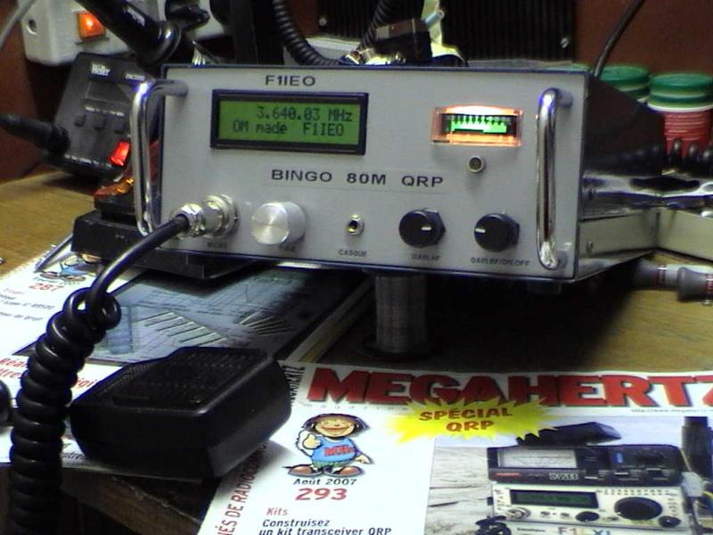 Transceiver  BINGO 80 SSB DE F1IEO