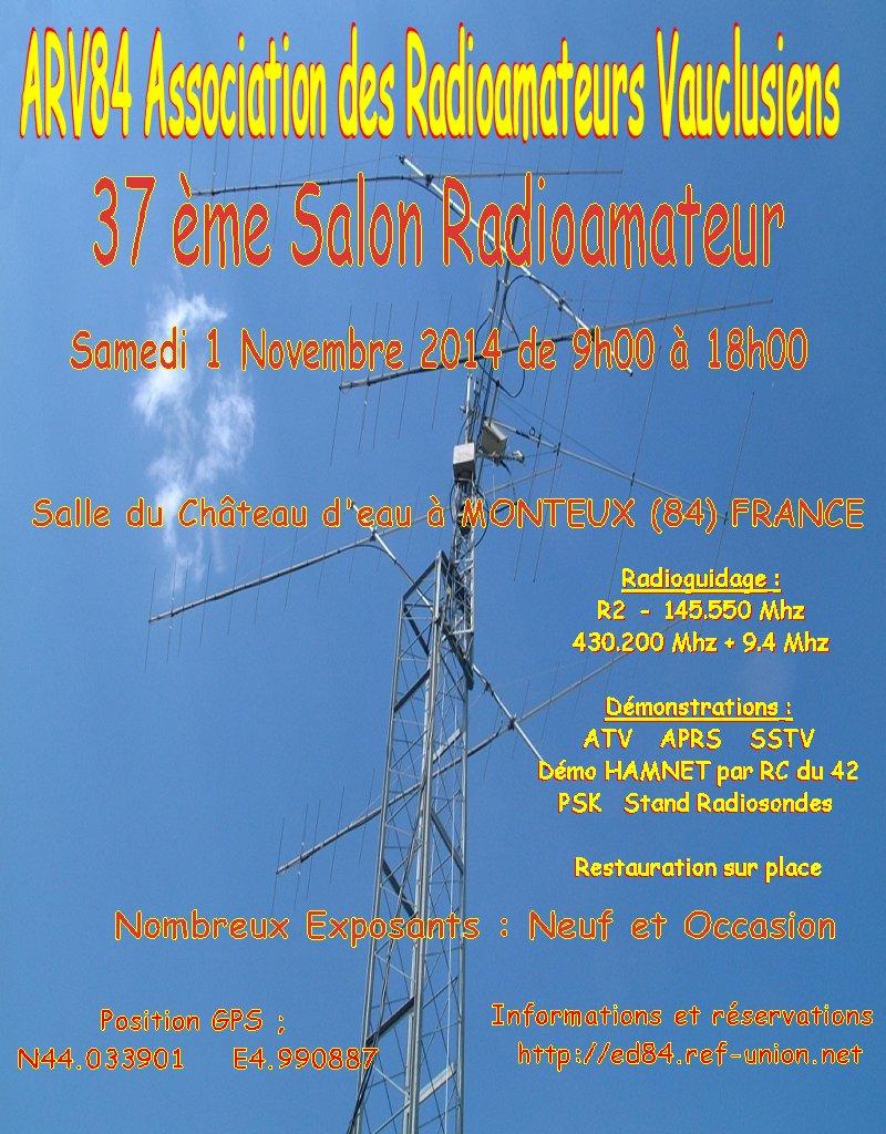 Salon radioamateur monteux 84 2014