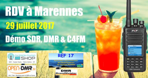 marennes 2017 salon radioamateur