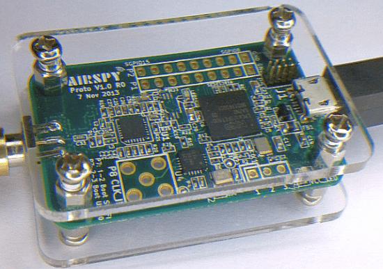 AirSpy est le nouveau projet de radio logicielle (SDR) et le nom du prototype développé par Youssef,