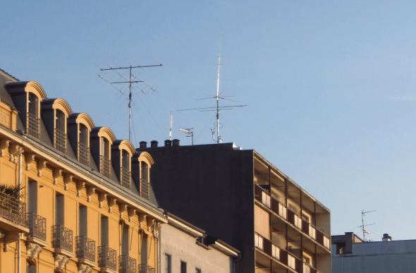 antennes radioamateur aix les bains
