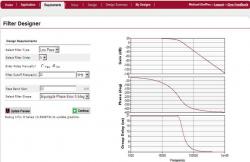 Outil de calcul filtre actif passe bas
