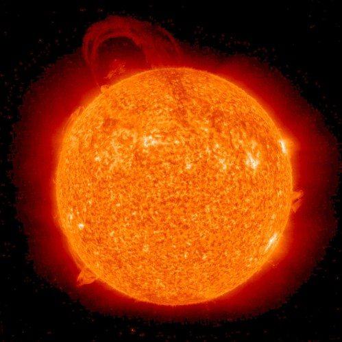 éruption solaire du cycle 24