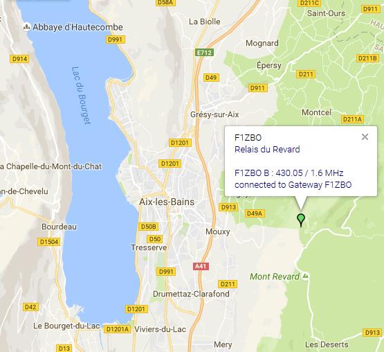 Après une longue période d'arrêt pour cause technique, le relais UHF du Revard (F1ZBO) en Savoie (73