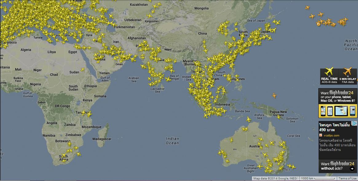 Ecouter et suivre les avions : GPS, ADS-B, VHF et ACARS