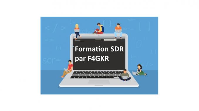 formation sdr f4gkr radio logicielle