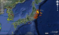google-earth-seisme-japon