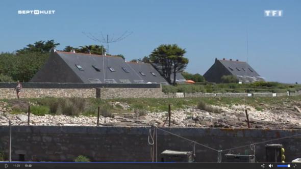 Vu dans un reportage de l'émission Sept à Huit diffusé sur TF1 le 2 juillet 2017, sur l'archipel des