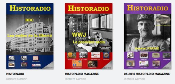 Trouvé via twitter, Historadio est un nouveau magazine en ligne sur l'histoire de la radio-communica