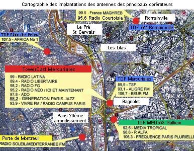 Les Sans radio de l'est parisien