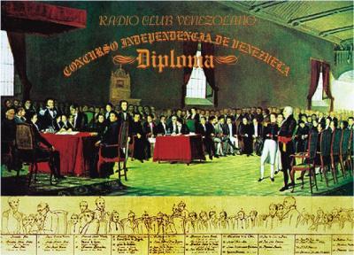 Venezuela Contest Indenpendence Day du Radioclub Venezolano