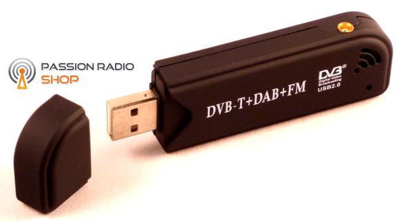 Les clés USB pour recevoir la TNT et hackées pour en faire un récepteur SDR de 24Mhz à 1766mhz (avec