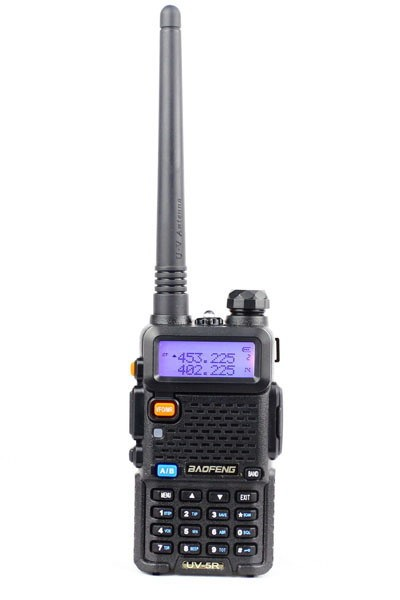 Baofeng UV-5R programmation
